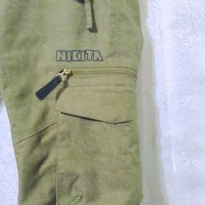 Nikita Pants - NIKITA Green Ski Snowboard Pants